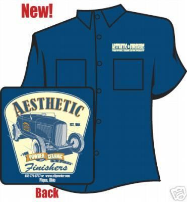 Aesthetic Finishers 32 Salt Flat Ford Hot Rod Workshirt