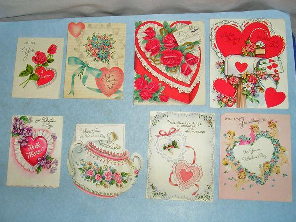 50 Vintage Valentine Day Cards
