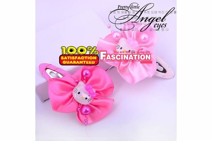 Hello Kitty Girls Toddlers Hair Clip Accessory New Lovely Girl