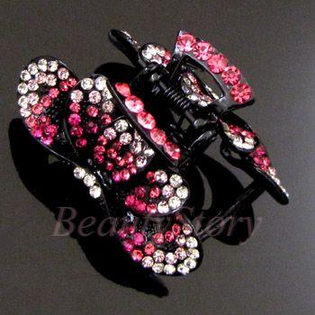 ADDL Item  Austrian rhinestone crystal fashion hair claw
