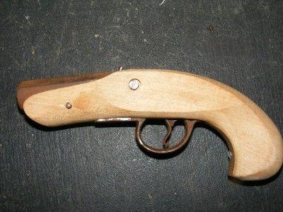 Black Powder Pistol parts stock barrel trigger & guard